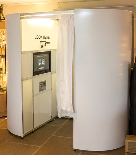 Large photobooth to hire in Essex