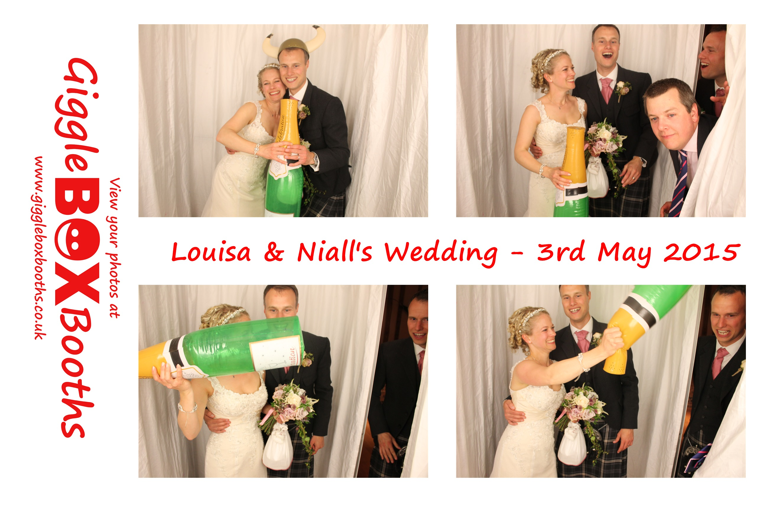 photobooth rental at spains hall essex