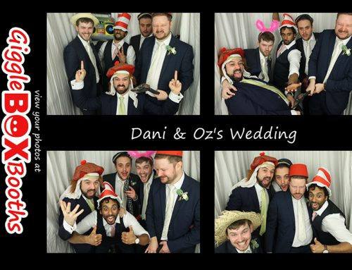 Chelmsford Photobooth Hire – Dani and Oz