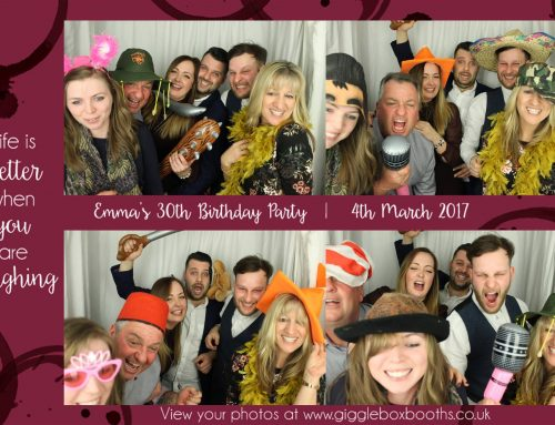 Photobooth hire in Chelmsford – Emma's 30th